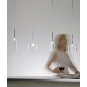 Axo Light Spillray SP MI Lampadario 1 Luce 4 Colori