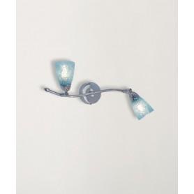 Toplight Feeling Net 1011/F2 Lampada Parete 4 Colori