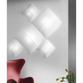Axo Light Nelly Straight PL60 Lampada Parete/Soffitto 3 Colori