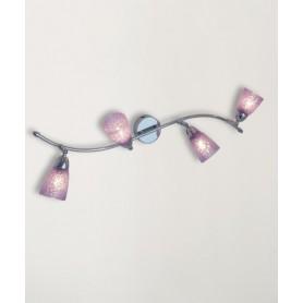 Toplight Feeling Net 1011/F4 Lampada Parete 4 Colori