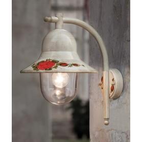 Ferroluce Imperia A200 AP Lampada Parete Esterno 1 Luce 2 Colori