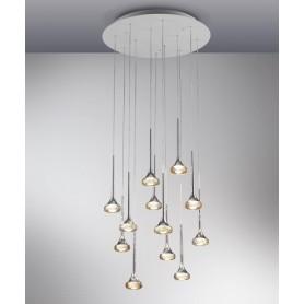 Axo Light Fairy SP18 Lampadario 18 Luci 3 Colori LED