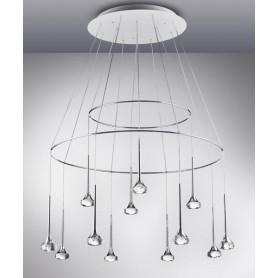 Axo Light Fairy SP12 + Anelli Lampadario 12 Luci  LED