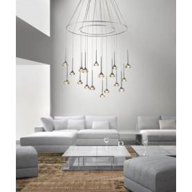 Axo Light Fairy SP18 + Anelli Lampadario 18 Luci  LED