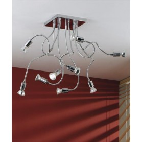 ILLUMINANDO Ginevra Flex 9 Lampada Soffitto 9 Luci