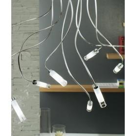 ILLUMINANDO Ginevra Vetro 6 Lampada Soffitto Vetro 6 Luci