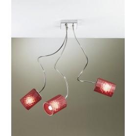 ILLUMINANDO Ginevra Chic 3 Lampada Parete/Soffitto 3 Colori