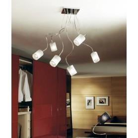 ILLUMINANDO Ginevra Chic 6 Lampada Soffitto 3 Colori