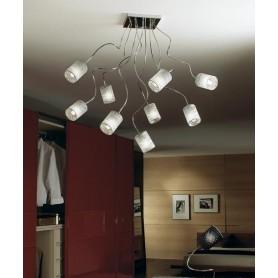 ILLUMINANDO Ginevra Chic 9 Lampada Soffitto 3 Colori