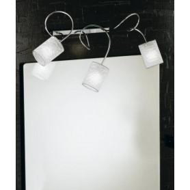 ILLUMINANDO Ginevra Chic AP 5 Lampada Parete 3 Colori