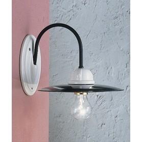 Ferroluce Potenza C001 AP Lampada Parete 1 Luce