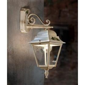 Ferroluce Gorizia A102 AP Lampada Parete Esterno 1 Luce