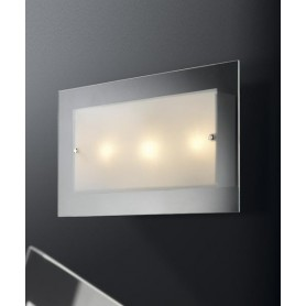 ILLUMINANDO Flat AP 30x50 Lampada Parete/Soffitto 3 Luci