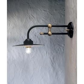 Ferroluce Potenza C153 AP Lampada Parete 1 Luce