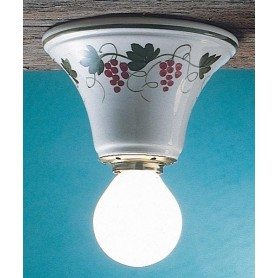 Ferroluce Trieste C133 PL Lampada Parete/Soffitto in Ceramica