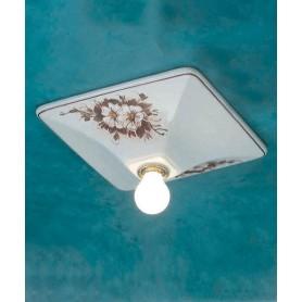 Ferroluce Trieste C136 PL Lampada Parete/Soffitto in Ceramica