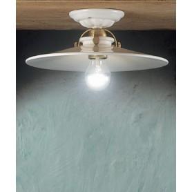 Ferroluce Asti C105 PL Lampada Soffitto Rustica in Ceramica