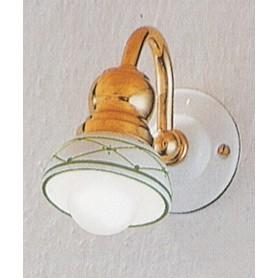 Ferroluce Savona C179 AP Lampada Parete in Ceramica 1 Luce