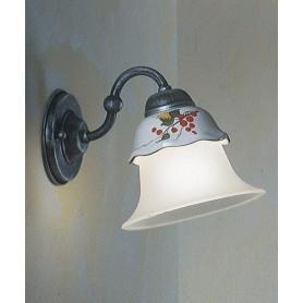 Ferroluce Ferrara C191 AP Lampada Parete Rustica Ceramica 1 Luce
