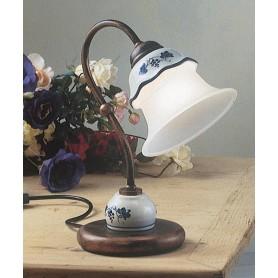 Ferroluce Ferrara C192 LU Lampada Tavolo Rustica Ceramica 1 Luce