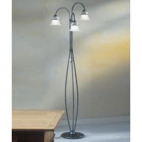 Ferroluce Ferrara C195/3 TE Lampada Terra Rustica 3 Luci