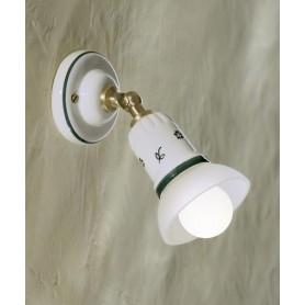 Ferroluce Treviso C275 AP Lampada Parete Rustica Ceramica 1 Luce
