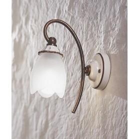 Ferroluce Catania C572 AP Lampada Parete in Ceramica 1 Luce