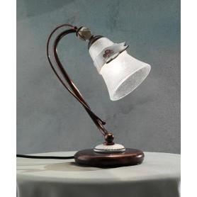 Ferroluce Venezia C1002 LU SX Lampada Tavolo in Ceramica 1 Luce