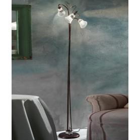 Ferroluce Venezia C1008 TE Lampada Terra Ceramica 3 Luci