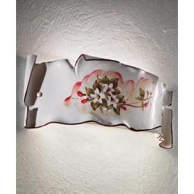 Ferroluce Milano C1108/27 AP Lampada Parete in Ceramica 1 Luce