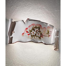Ferroluce Milano C1108 AP Lampada Parete in Ceramica 1 Luce