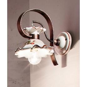 Ferroluce Milano C1115 AP Lampada Parete in Ceramica 1 Luce