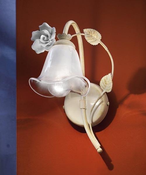 Ferroluce Siena C1181 AP DX Lampada Parete in Ceramica 1 Luce