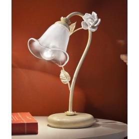 Ferroluce Siena C1189 LU SX Lampada Tavolo in Ceramica 1 Luce