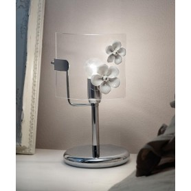 Ferroluce Recanati C1254 LU SX Lampada Tavolo in Ceramica 1 Luce
