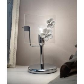 Ferroluce Recanati C1254 LU DX Lampada Tavolo in Ceramica 1 Luce