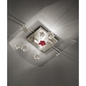 Ferroluce Recanati C1255 PL Lampada Soffitto Ceramica 2 Luci