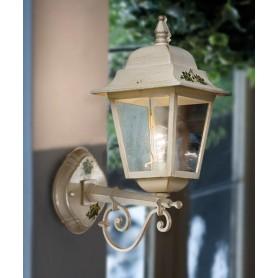 Ferroluce Gorizia A101 AP Lampada Parete Esterno 1 Luce