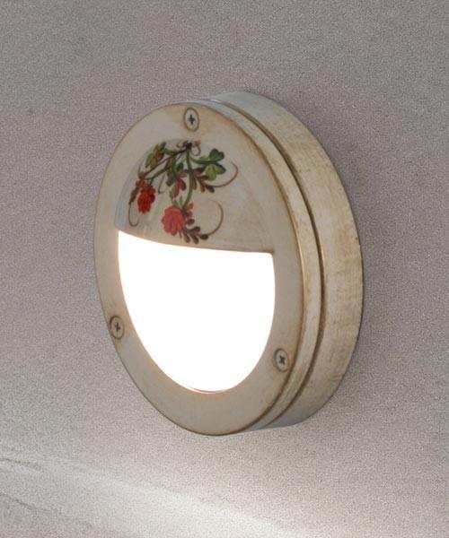 Ferroluce Brindisi A500 AP Lampada Parete Rustica Esterno 1 Luce