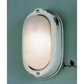 Ferroluce Brindisi C290 AP Lampada Parete Ceramica Esterno