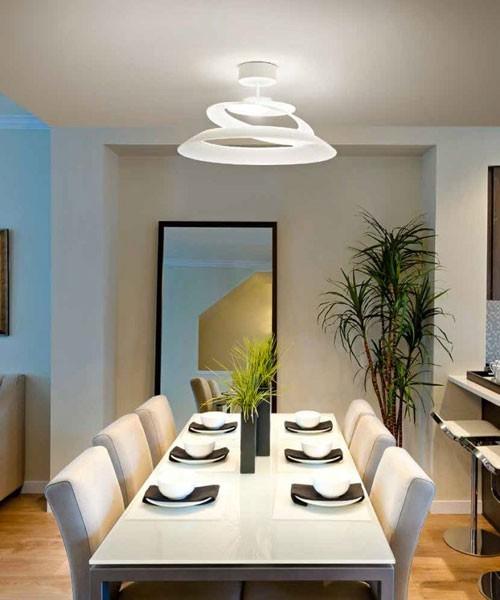 FABAS Aragon 3357-65-102 Lampada Moderna da Soffitto Bianco LED