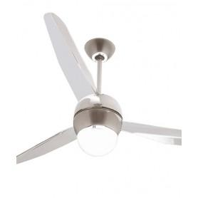 Italexport Sfera 1205 Ventilatore da Soffitto LED Cromo