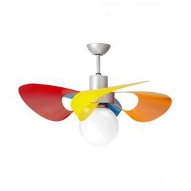 Italexport Soffio 1236 Ventilatore da Soffitto LED Multicolor
