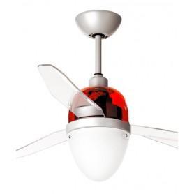 Italexport Swing 1247 Ventilatore da Soffitto LED Rosso