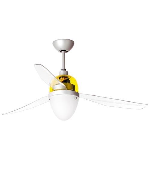 Italexport Swing 1248 Ventilatore da Soffitto LED Giallo