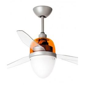 Italexport Swing 1250 Ventilatore da Soffitto LED Arancione