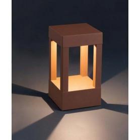 Faro Agra Lampada Terra Bassa da Esterno 2 Colori LED