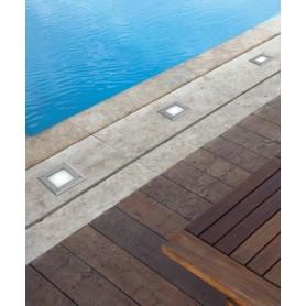 Faro Led-18 Faretto Esterno Carrabile Quadrato LED