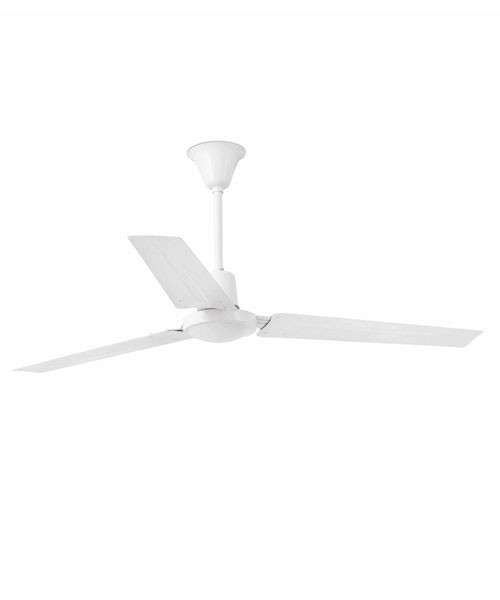 Faro Indus 33001 Ventilatore da Soffitto senza Luce Bianco