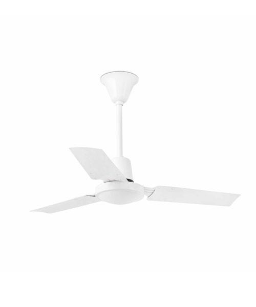 Faro Mini Indus 33011 Ventilatore da Soffitto senza Luce Bianco